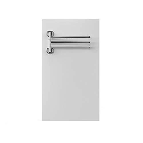 Panel Calefactor toallero por Infrarrojos, bajo Consumo, Pared, con termostato Incorporado, 250W, para baño hasta 5 m2