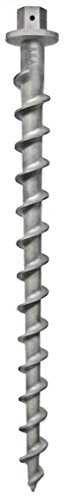 """Penetrator 36"""" Aluminum Screw Earth Anchor-Holds up to 8,400lbs"""