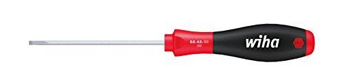 Wiha Schraubendreher SoftFinish® Schlitz mit Rundklinge für tiefliegende Schrauben (00686) 3,0 mm x 80 mm