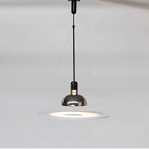 Modern enkel hängande belysning med hängande tråd metall elegant tak hängande lampa matt svart ljuskrona till sovrum vardagsrum kök restaurang matsal [energiklass A +++]