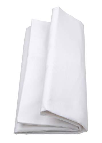onirika Lenzuolo sotto con Angoli Misura Matrimoniale Maxi 180 x 210 +25 Bianco
