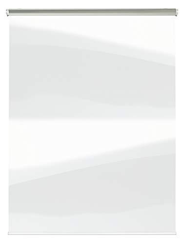 GARDINIA Hygiene-Rollo mit Montageschiene und Befestigungsmaterial, Glasklar, 150 x 180 cm