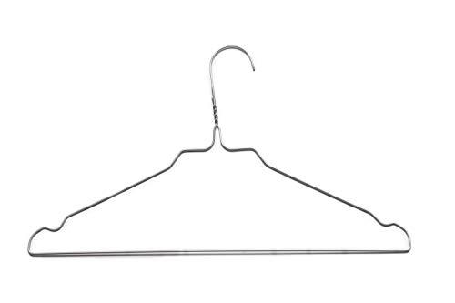 Clean-Clothes Kleiderbügel Set Metallkleiderbügel aus Draht Farbvarianten Verzinkt...