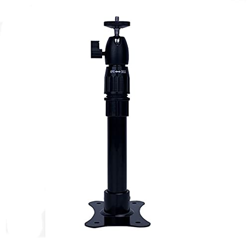 Soporte de proyector PROYECTOR DE FUERZA O PROYECTOR DE TECHO Aleación De Aluminio Micro Proyector Soporte De Rotación De 360 grados Capacidad De Transporte 11lb Para el sistema de vigilancia domést