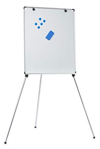Magnetische Whiteboard leicht Aluminium Flipchart Flip Chart Präsentation Staffelei 71 cm x 88 cm / (MEHRWEG)