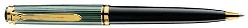 Pelikan 986240 Drehkugelschreiber Souverän K 800, 1 Stück, schwarz/grün