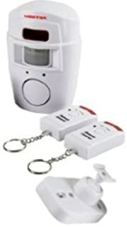 Master- Alarma Sonora de Seguridad con Sensor de Movimiento, Cuenta con 2 Controles Remoto, Soporte de sujeción y con Alca...