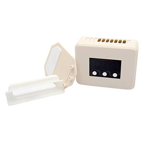LEXIANG Controlador de Juego Radiador de Calor Ventilador de enfriamiento de Escape con Pantalla LED de Control de Temperatura para Interruptor NS