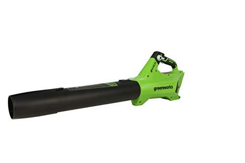 Greenworks 24 V bürstenloses Axialgebläse (110 MPH / 450 CFM) Batterie Nicht im Lieferumfang enthalten BL24L00