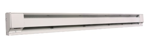Fahrenheat F2546 6' Baseboard Heater, White