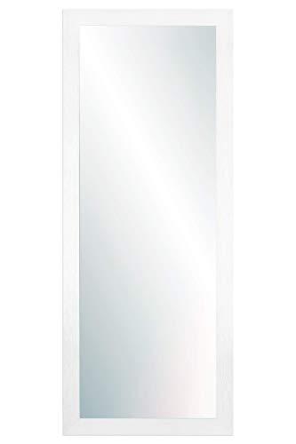 Chely Intermarket, Espejo de Pared Cuerpo Entero 35x100cm (42,50x107,50 cm) Blanco/Mod-146, Ideal para salón, Comedor, Dormitorio y oficinas. Fabricado en España. Material Madera.(146-35x100-4,15)