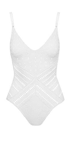 Robin Piccone Clarissa One Piece Swimsuit (12) White