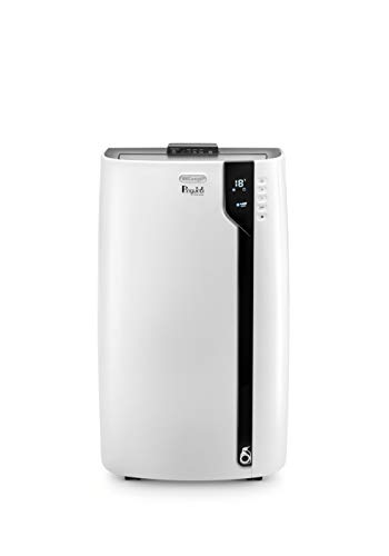 DeLonghi Pinguino Deluxe Portable Air Conditioner, 600 sq. ft, White