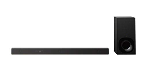 Sony HT-ZF9 3.1-Kanal Dolby Atmos/DTS:X Soundbar (Vertical Surround Engine, WiFi, High-Resolution Audio, Subwoofer, funktioniert mit Amazon Alexa)