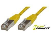 MicroConnect Netzwerkkabel - RJ-45 (M) bis RJ-45 (M) - 1 m - SSTP-Kabel - Cat 6