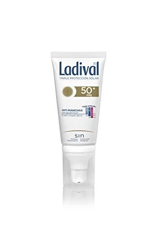 Ladival Crema solar facialacción anti-manchas con deléntigo toque seco - 50mñ