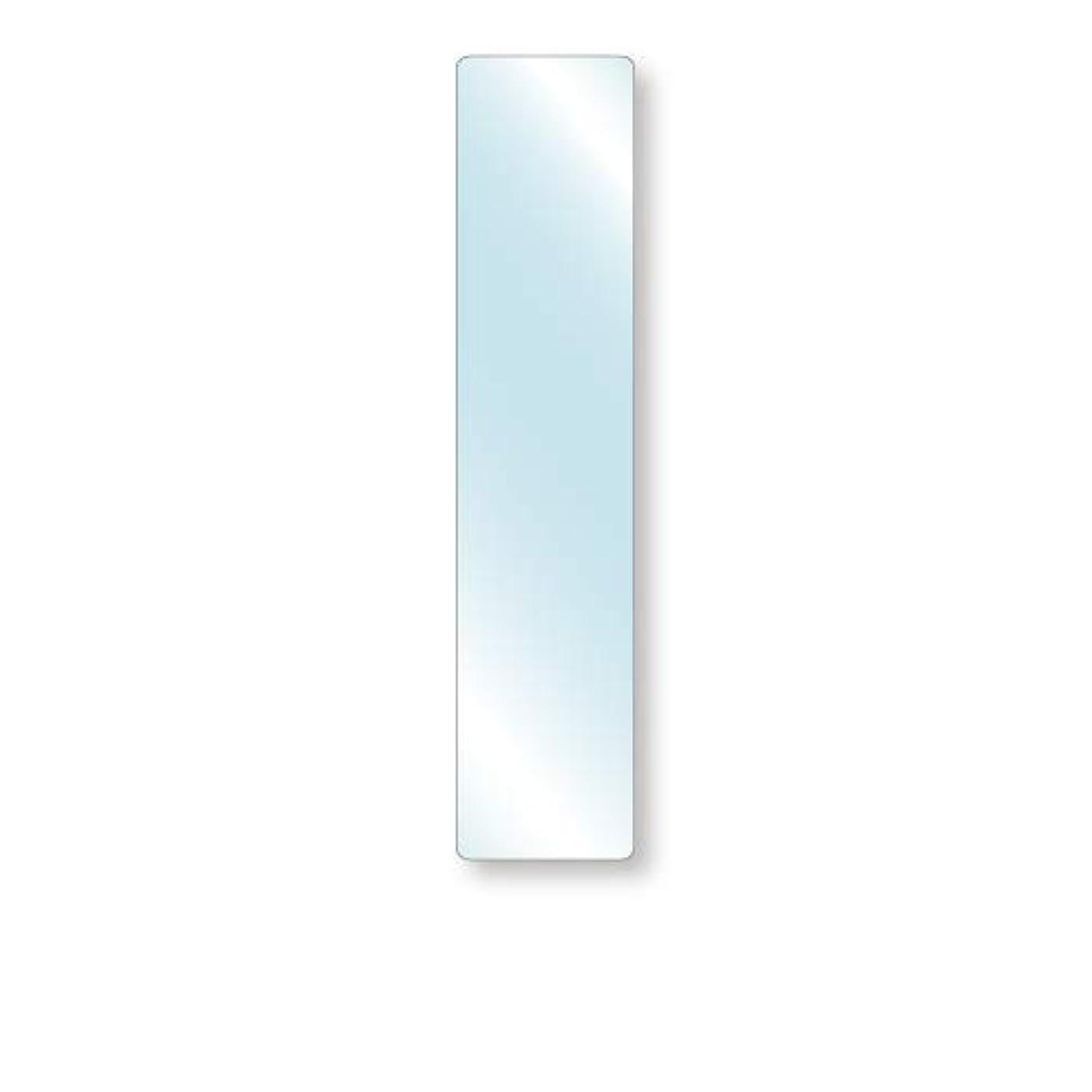 満足できる抵抗する間欠強化ガラス 厚み6mm 200×900mm 四角形 4隅R加工 ミガキ サイズオーダー対応