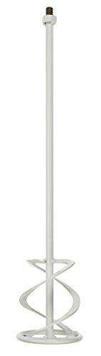 kwb Beton- und Mörtel-Rührer M14 für Bohrmaschine, Farb-Mischer mit Größe 120 x 590 mm, Rührstab geeignet für Gebinde von 10 – 15 Liter, mind. 700 Watt, Made in Germany