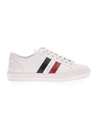Moncler Luxury Fashion Herren 4M7144601A9A002 Weiss Leder Sneakers   Herbst Winter 20