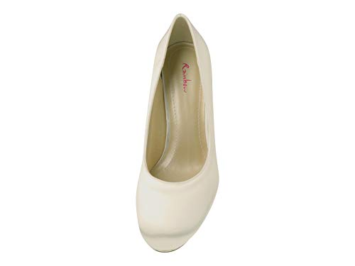 Rainbow Club Brautschuhe Grace – Pumps, High Heels, Ivory/Creme - 5