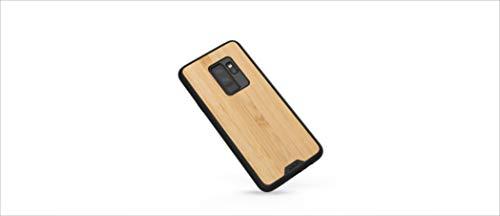 Mous - Cover Protettiva per Samsung Galaxy S9+ Plus - Limitless 2.0 - Legno di Bambù - Proteggi Schermo Incluso