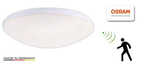 Visolight D230MS warmweiß 3000K LED Sensorleuchte, Deckenleuchte Wandleuchte Lampe