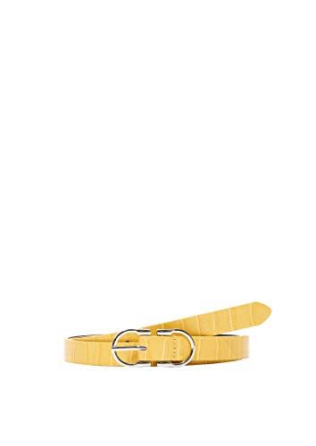 s.Oliver Damen 201.10.004.30.281.2039160 Gürtel, 1470 Yellow, 95