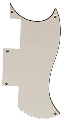 Custom Guitar Pickguard For Epiphone SG Special Style (3 Ply White)