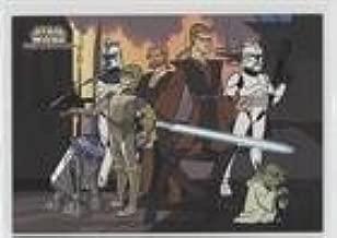 Checklist (Trading Card) 2004 Topps Star Wars: Clone Wars - [Base] #9