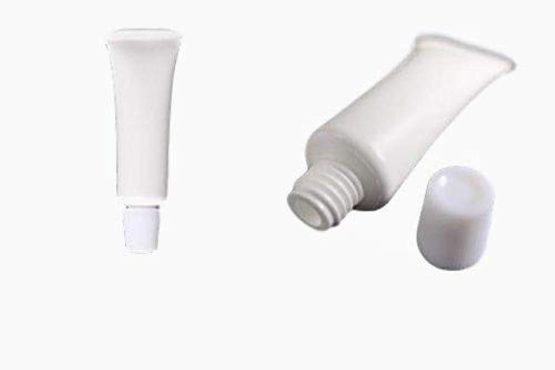 有名もっと手入れ【安心の日本製】 プラスチック押出チューブ 【内容量5g】 10個入り 容器 【サンプルなどに】 PE プラスチック 詰替にも
