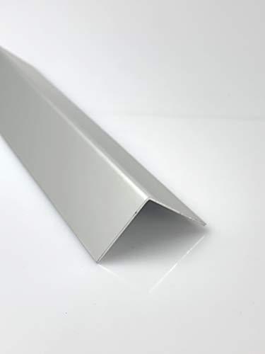 Aluminium Winkel Eloxiert E6/EV1 Winkelprofil Silber 1,5mm Länge 1000mm, Individuell nach Maß (Schenkel: 110mm x 110mm)