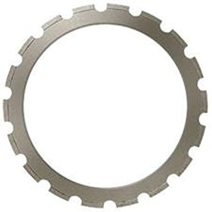 MK Diamond 161131 RSL - 45 Ring Saw Blade with 2 Drive Wheels for Cutting Precast and Reinforced Concrete, 14""