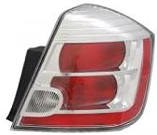 Go-Parts - OE Replacement for 2010 - 2012 Nissan Sentra Rear Tail Light Lamp Assembly / Lens / Cover - Right (Passenger) 26550-ZT50A NI2801187 Replacement For Nissan Sentra