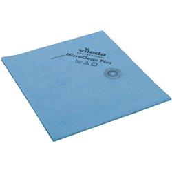 Vileda MicroClean Plus blau Microfasertuch 40x45cm 5 Stück