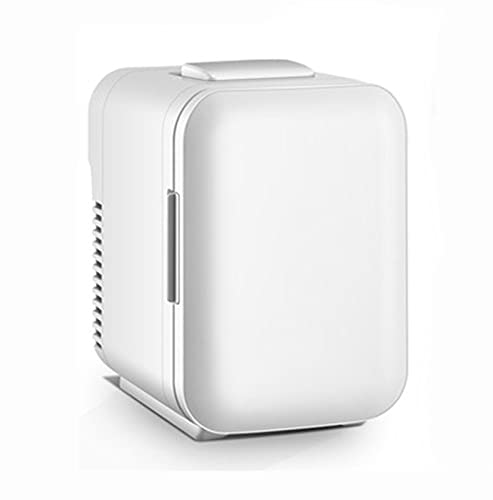 Mini Nevera, 4 litros AC/DC Refrigerador y Calentador portátil Compacto de Belleza de Maquillaje para el Cuidado de la Piel, Alimentos, medicamentos, hogar y Viajes Powerful
