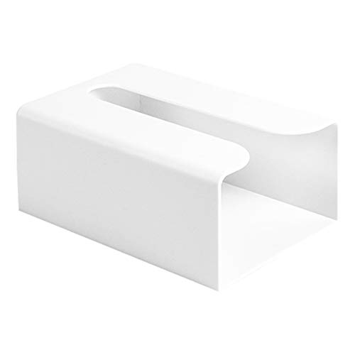 Festnight Papierhandtuchspender Wandmontage Kein Bohren Papierhandtuchhalter Spender Bad Toilettenpapier Spender Müllsäcke Spender Home Küche Papier Extraktion Spender
