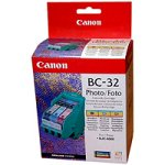 Canon 4610A002 BC-32E Druckkopf inkl. Tintenpatron schwarz und dreifarbig Standardkapazität Druckkopf: 3.000 SS, BCI-3e: 300 SS 1er-Pack photo