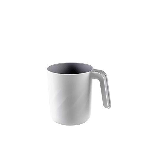 LLAAIT Nieuwe Tand Clean Cup 1 PC Badkamer Tandenborstel Cups Tandpasta Houder Straw Cup Drinkende Was Gorgelbekers 0710#30,GY