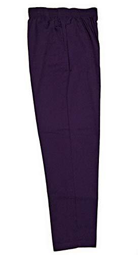 Laura Scott Petite Pant Twill Pant Average (Purple Velvet, 4P Average)