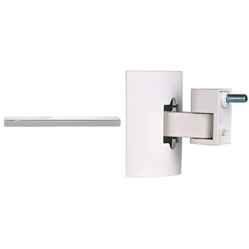 Bose Soundbar 700, Bluetooth, Wi-Fi, Bianco, con Alexa integrata & UB-20 serie II Staffa da parete/soffitto