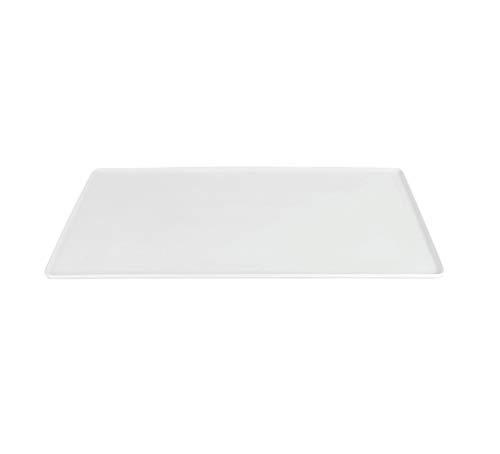 Visiodirect Lot de 3 Plateaux en Porcelaine GN 1/1-53 X 16 cm