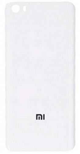 Desconocido Coperchio batteria per Xiaomi Mi 5, Mi5, Vetro Posteriore Cover Posteriore (Bianco)