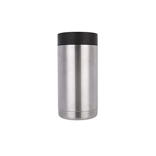Doppelwandiger Weinflaschenkühler aus Edelstahl für Bar/Eiskübel für viele Anwendungen (Farbe: 400 ml).