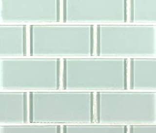 Best arctic ice glass tile backsplash Reviews