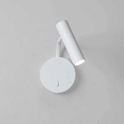 Enna Wall, 1 x 3W LED, weiß, schwenkbar, mit Sc