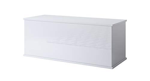 muebles bonitos Baule Contenitore Ariel Colore Bianco