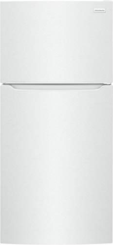"""FF-HT-1814-WW 30"""" Top Freezer Refrigerator with 18.3 cu. ft. Total Capacity, EvenTemp Cooling System, Humidity Controlled Crisper Drawers, Auto-Close Doors, ADA Compliant, Energy Star, in White"""