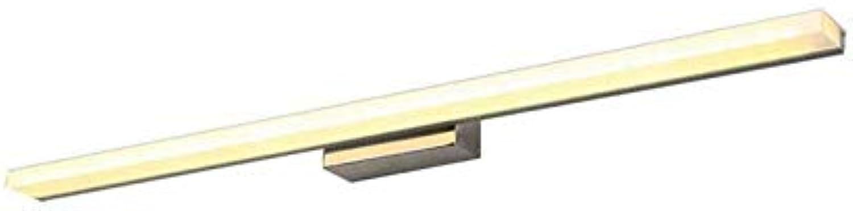 Led Unterbauleuchte Lichtleiste Deckenlampeled Spiegel Scheinwerfer Feuchtigkeitsfest Anti-Fog Badezimmerspiegelleuchte Makeup Light (Farbe  Dreifarbiges Licht, Gre  80 Cm)