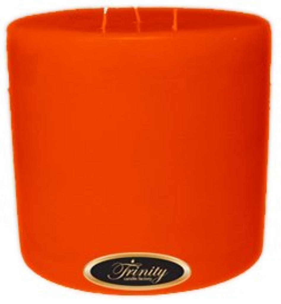 の中で運命的な浮くTrinity Candle工場?–?スイカズラ?–?Pillar Candle?–?6?x 6