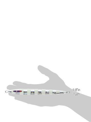 『メジャークラフト メタルジグ ジグパラバーチカルロングスロー JPVLS-200#07 ZEBRA GLOW 200g』の3枚目の画像